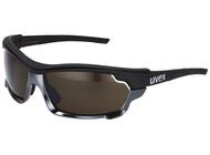 UVEX Sportstyle 304 pola IR Brille black-silicium